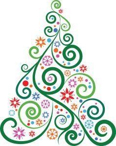 colorful tree art 238x300 - Christmas Angel Tree